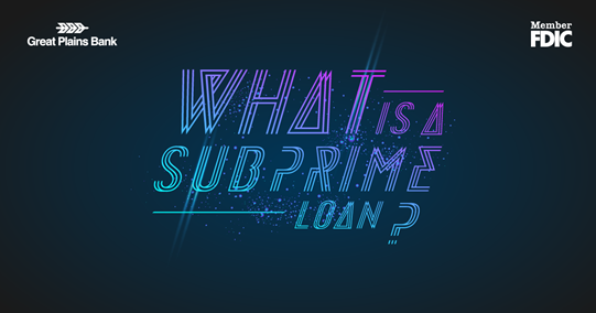 What is a Subprime Loan Image